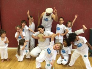 Capoeira Class - Barrel of Fun